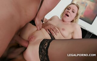 Horny of age video MILF privileged show