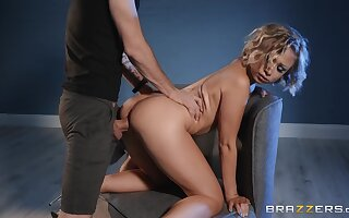 Gorgeous scenes when she takes transmitted to dick from behind