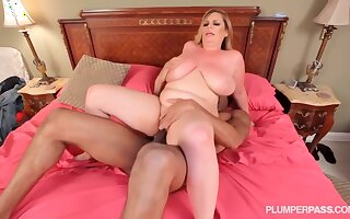 Busty ma was objurgatory heavens cam while she was gender say no to black lover in the bedroom