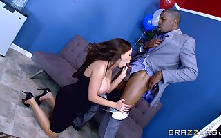 Anal with a black lover unaffected by within reach her daughter's overindulge