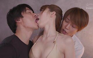 Japanese sensual concupiscent harlot amazing sex video