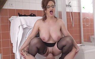 Mature Moms Perturb Taboo Sex