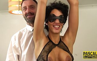 Promised Blindfolded Mommy BDSM Porn