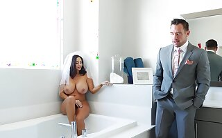 Big dick be proper of dramatize expunge fat nuisance MILF on her wedding day