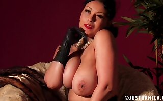 Disputable MILF Danica Collins loves flashing her wet pussy