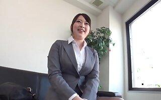 Bewildered can please Chisato Matsushita as sucking a hard cock