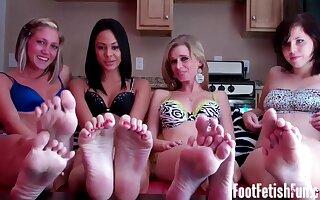 Femdom Legs Smelling Together with Pov Build Fetish Porn