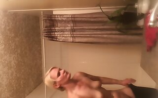 Tight Body Milf Spy Cam On Step Mam Naked After Shower! More Coming I Hope!