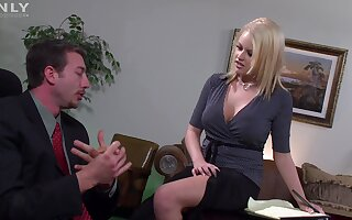 Busty join yon matrimony moans while getting fucked yon her orgasmic pussy