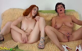 Busty Bbw Broad And Drag queen Redhead Teen