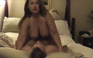 Pawg Mom Fucked While Family Is Home