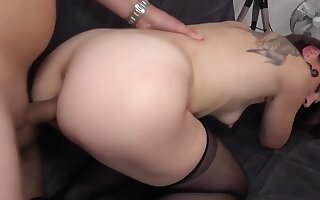 French milf fuck anal