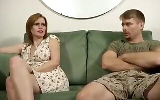 Naughty wife gets anal punishment !