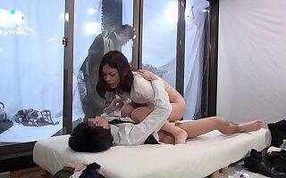 Hottest Japanese model in Exotic MILF, Voyeur JAV movie