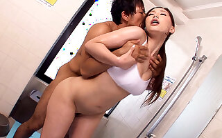 Ai Sayama Loves The Gym