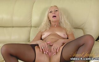 Amazing pornstar in Exotic MILF, Stockings xxx movie