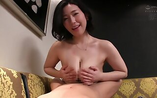 Chubby Asian mature likes all round fuck