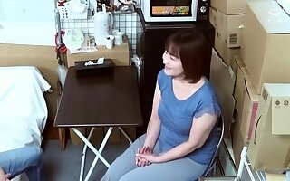Mature Japanese Mom Blowjob