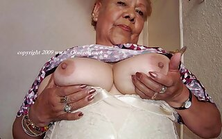 OmaGeiL Tons of Unprofessional Granny Pictures in Video