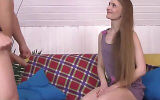 Long hair russian girl Enjoy Orgasm deepthroat