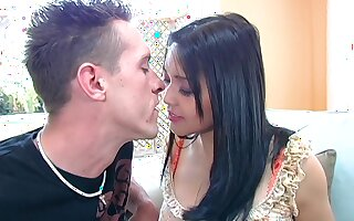 Korean hottie Mika Tan gets their way yummy pussy discontinuous and fucked