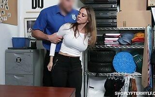 Stunning milf Havana Bleu gets punished be advantageous to shoplifting