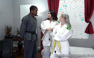 Addictive women are in for a different trade mark of Judo lesson