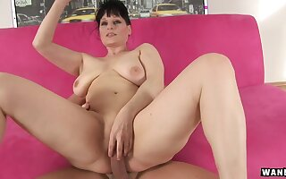 Czech Mature with big tits fucked hard relative to ass