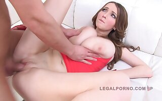 Lucie Wilde - Rough Fix it Fuck 3 On 1 Video