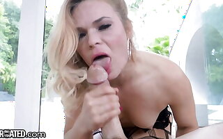Throated - Face Fucked MILF Swallows & Deepthroats