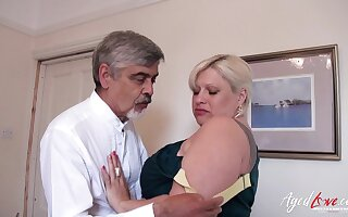 AgedLovE Mature With Big Tits Got Inexact Fuck